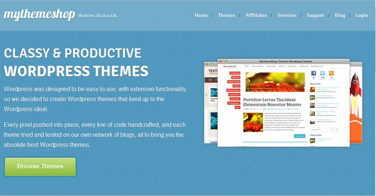***Giveaway #6: Win Premium Theme from MyThemeShop***