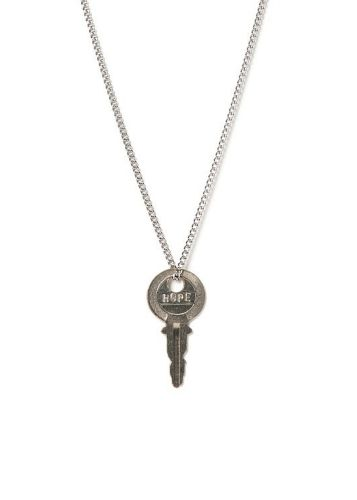 Wear this key and embrace its message until you meet someone who needs the message on the key more than you.  Each key has been hand engraved by an individual transitioning out of homelessness, meaningfully employed by The Giving Keys.