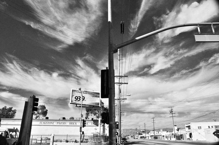 SFV The San Fernando Valley #LosAngeles #sky #weather #calm #landscape #streets #blackandwhite #street #cityscape #urban #yuliiabarbashovaphotography #rybvision