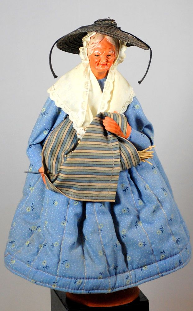 S Jouglas Santon de Provence French Clay Collectible Doll ...