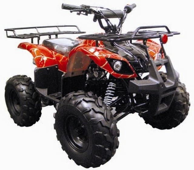 Complete Go-Karts and Frames 64656: Coolster 3125R New 125Cc Kids Atv Fully Auto With Reverse M Spider Red Color -> BUY IT NOW ONLY: $799.95 on eBay!