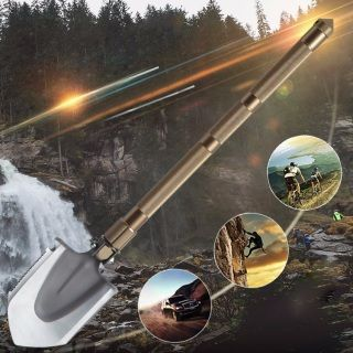 Portable Multifunctional Outdoor Survival Folding Shovel 