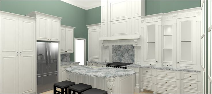 It may be easy to decide what cabinet line to choose that suits your taste and overall interior decor, but it is far harder to nail down exactly what product units and accessories to buy. At Domain Cabinets Direct, we offer a convenient 3D design service for RTA Cabinets