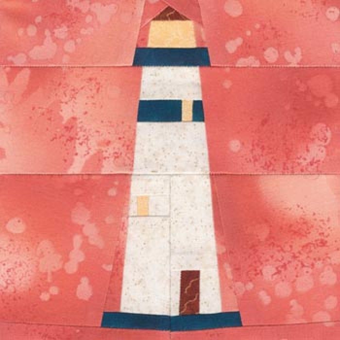 Free Lighthouse Quilt Block Patterns : 17 Best images about paper piecing possibilities on Pinterest Rainbow unicorn, Pirate quilt ...