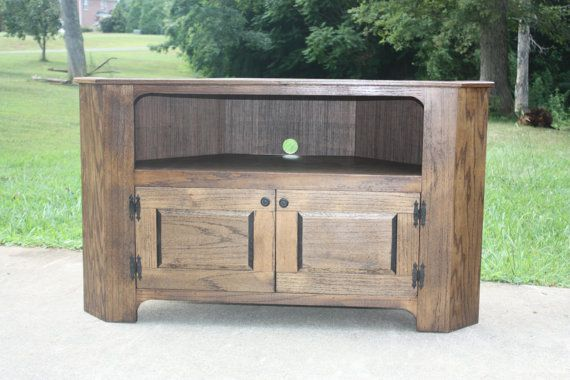 Hey, I found this really awesome Etsy listing at https://www.etsy.com/listing/198490134/tv-stand-corner-country-primitive