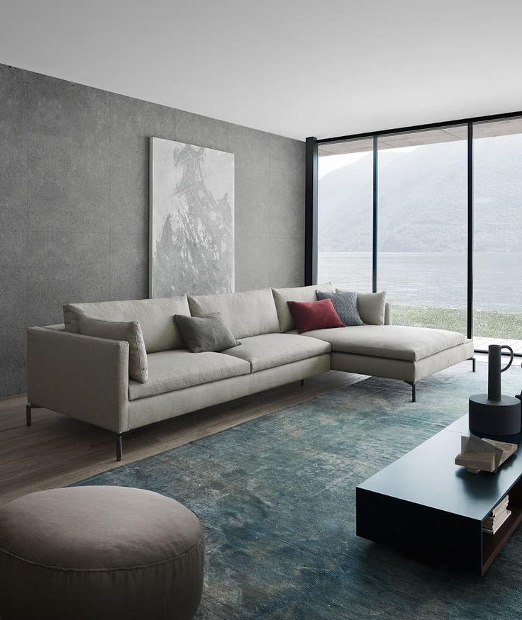 Die besten 25 minimalistische wohnzimmer ideen auf for Minimalistische wohnungen