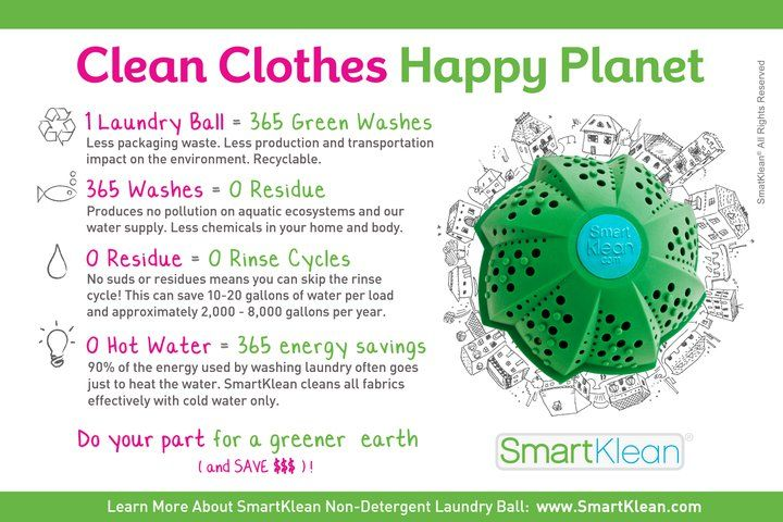 Ditch The Detergent with a SmartKlean Laundry Ball {Review