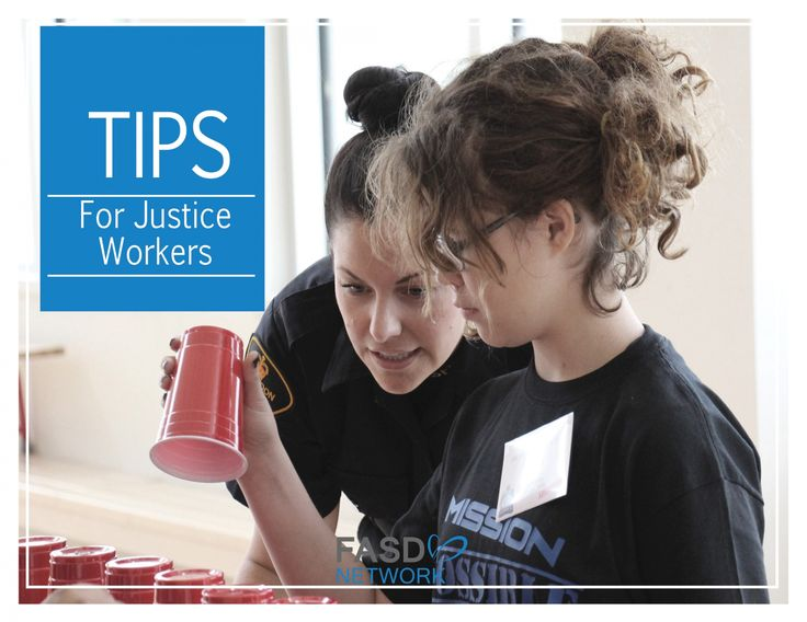 FASD Tips  & Strategies for Justice Workers #FASD