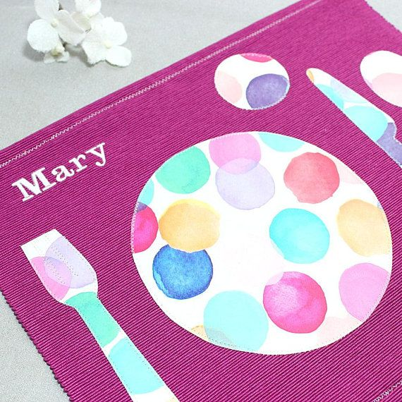 Montessori Placemat For Kids Berry Personalized Placemats Toddler Christmas Place Setting Montessori Materials Stocking Stuffers Girls Personalised Placemats Stocking Stuffers For Girls Montessori Materials