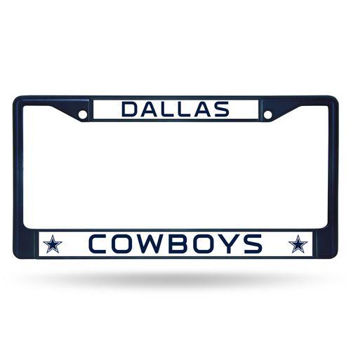 Dallas Cowboys Metal License Plate Frame - Navy