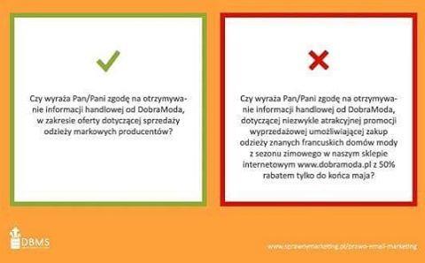 Dostaliście kiedyś taką wiadomość? Jej wysyłka nie jest zgodna z prawem. Keśli chcecie dowiedzieć się więcej o prawie w #email #marketing, przeczytajcie artykuł sprawnymarketing.pl/prawo-email-marketing