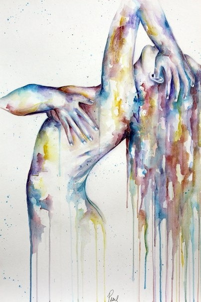 Art: watercolour ~ artist unknown