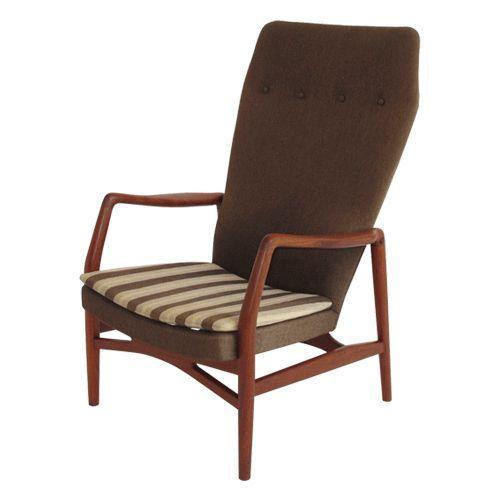 Kurt Ostervig; Lounge Chair, 1960.
