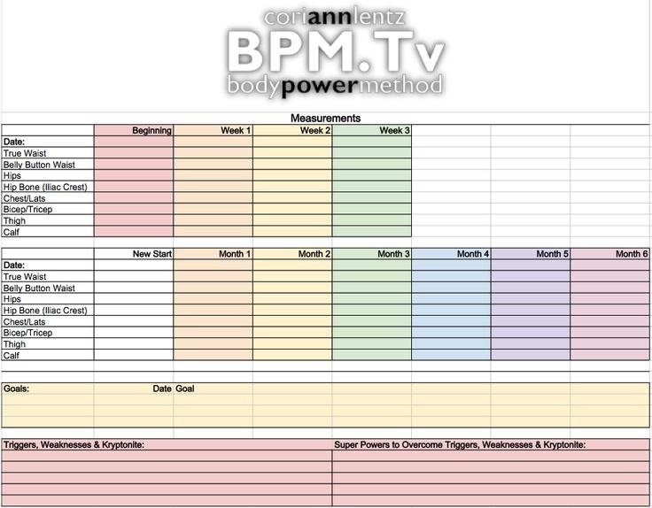 Download Your Own Progress Worksheet It 39 S Free Get