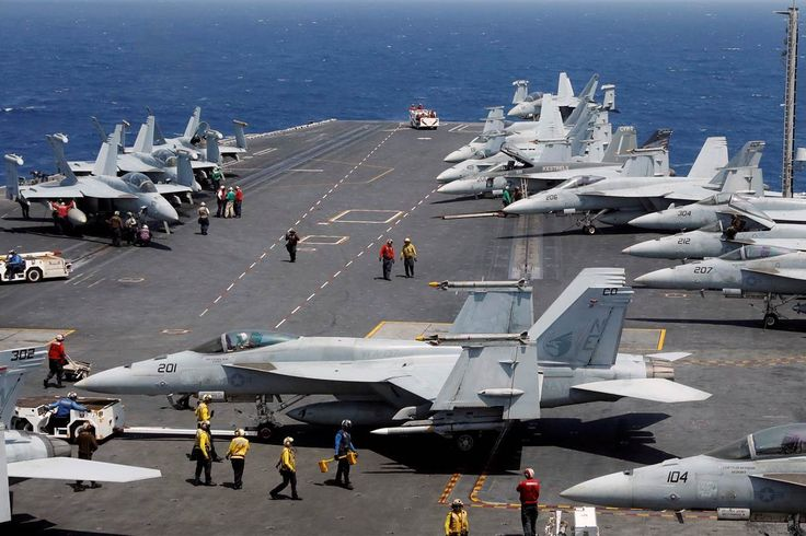 U.S. to Move Carrier Strike Group Closer to Korean Peninsula - NBC News