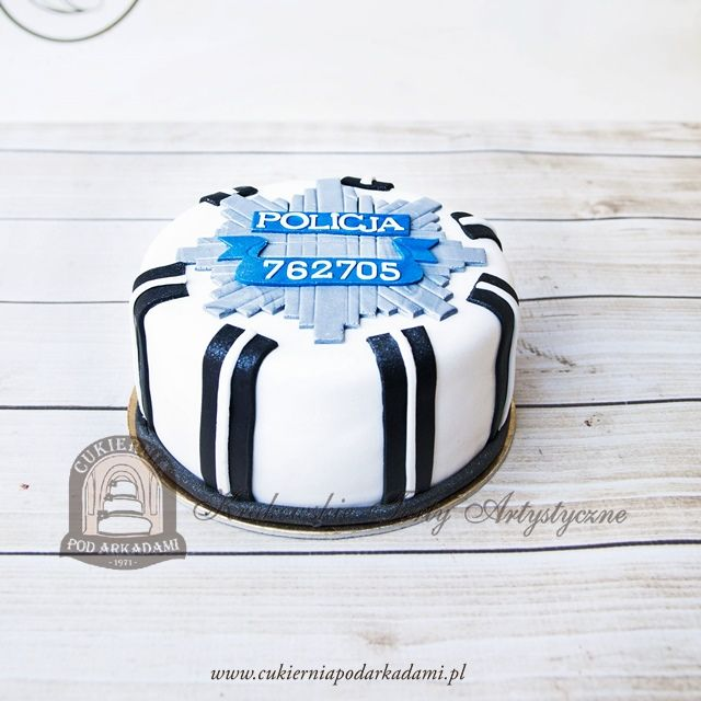 222ba Tort Dla Policjanta Policeman Cake Policeman Cake Cake Policeman