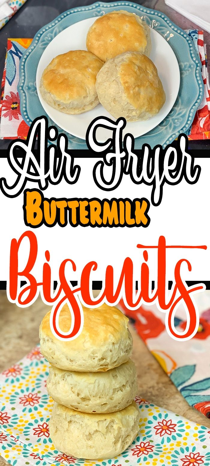 How To Make Easy Buttermilk Air Fryer Biscuits Recipe in