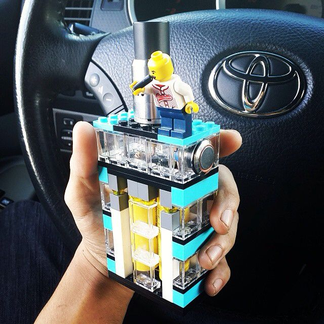 Lego vape box mod