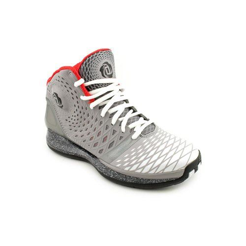 Adidas Boys Youth Derrick D Rose Basketball Shoes Gray/White/Black