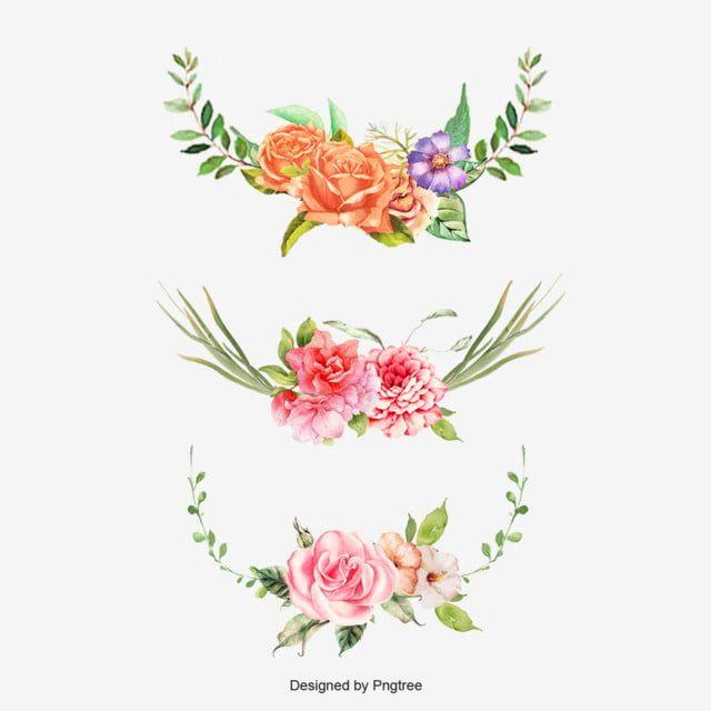 花朵圓形邊框 花朵圓形邊框 屋角 三色堇素材 Psd格式圖案和png圖片免費下載 In 2020 Flower Border Clipart Flower Border Flower Clipart