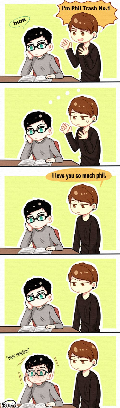 AmazingPhil and Danisnotonfire #comic