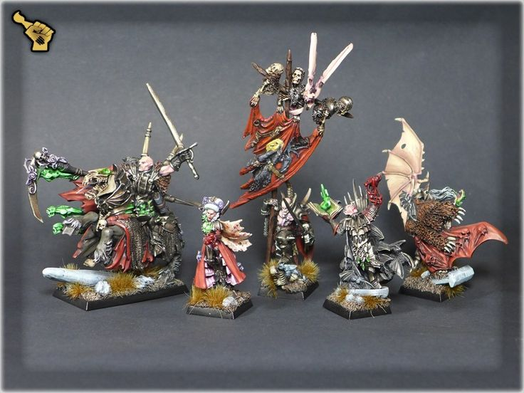 Scar_hand Painting - Warhammer Vampire Counts Heroes by Nazroth