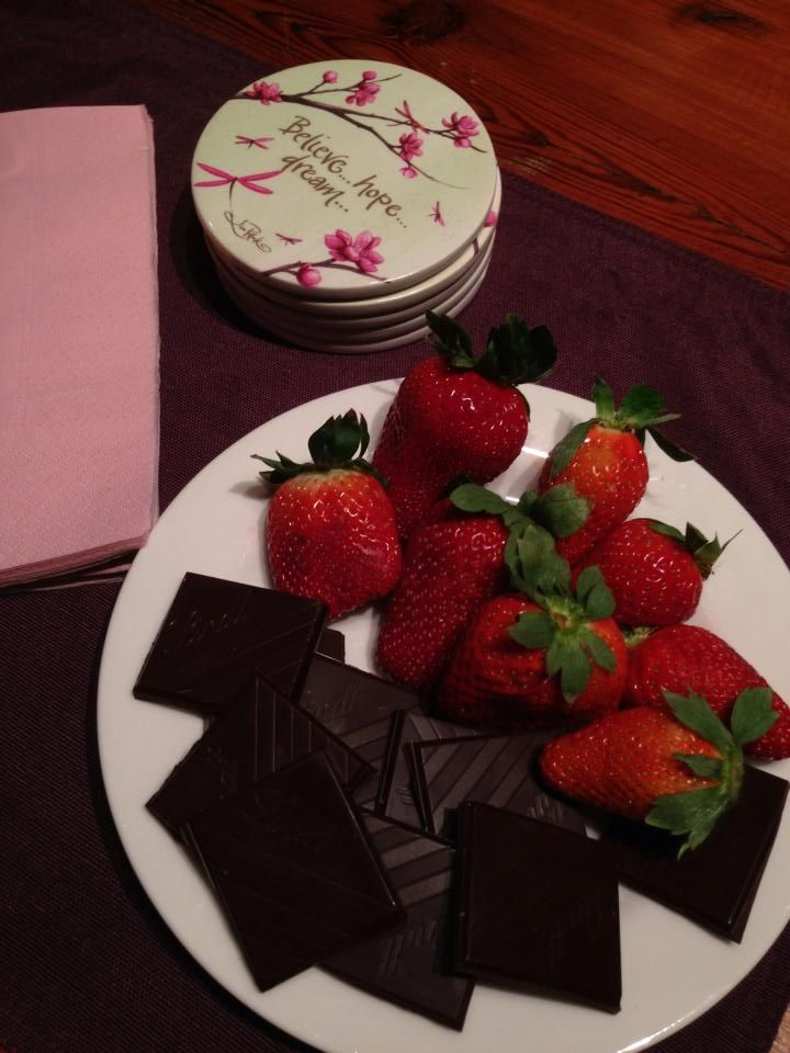 A Circle space is only complete once a dash of dark chocolate and some luscious berries have been added in to the mix!