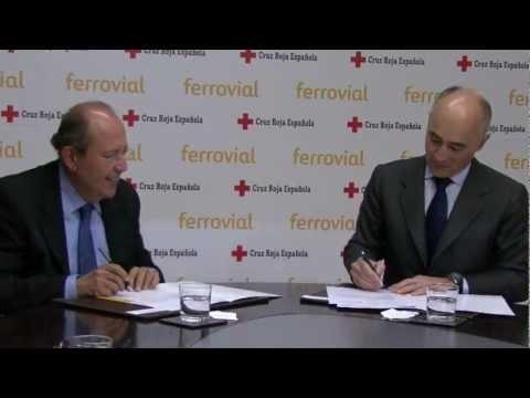 Ferrovial renovará los centros de distribución de alimentos de Cruz Roja España