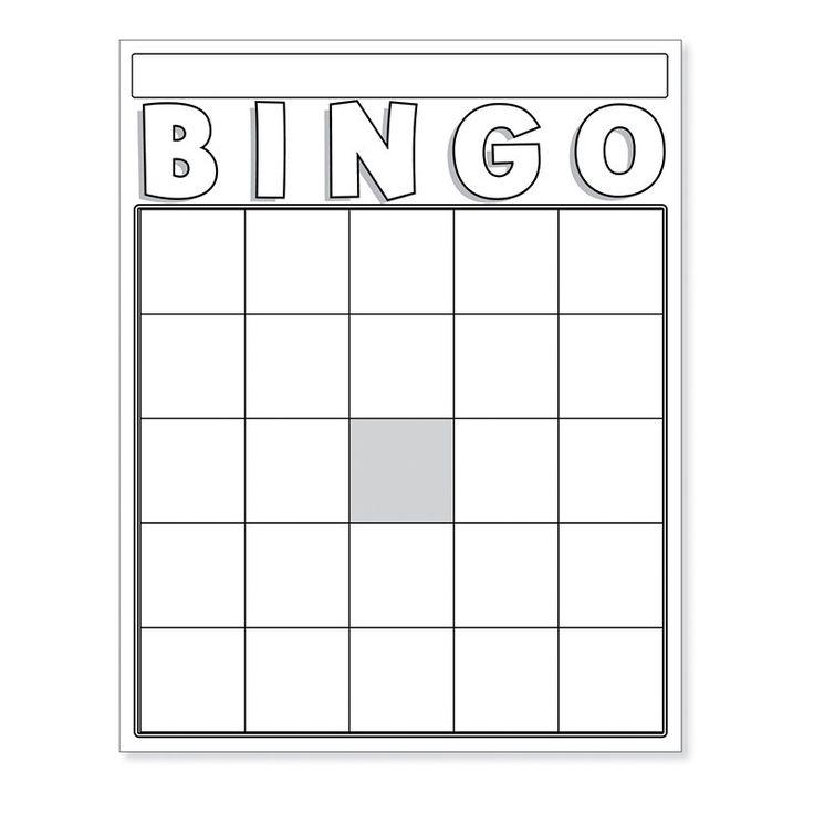 The  Best Blank Bingo Cards Ideas On   Bingo Card