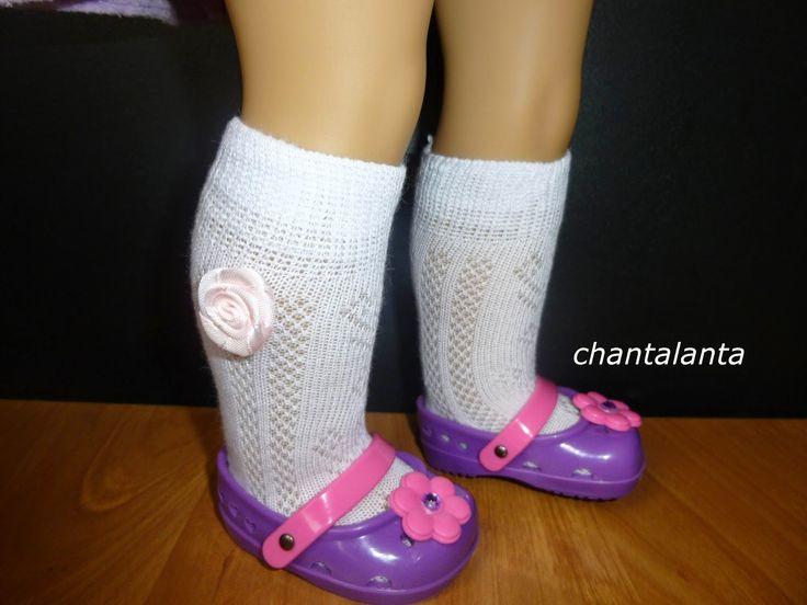 Chantalanta : Чулочно-носочные изделия для кукол. МК.