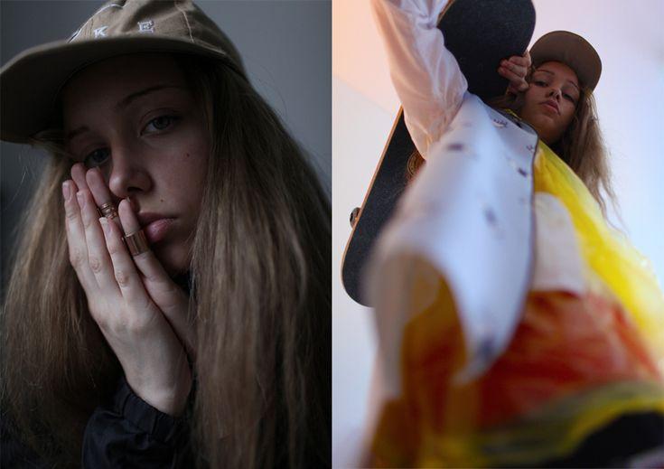 Fashion story в журнале Contributor от фотографа Юры Таралова