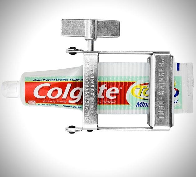 Toothpaste squeezer. Cool! #DeltaDental