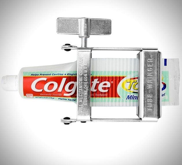 Toothpaste squeezer. Cool! #DeltaDental
