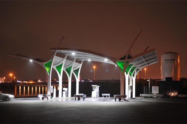 Rolande biogas station Utrecht