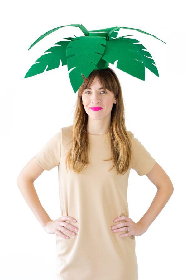 DIY Palm Tree + Beach Ball Costumes | studiodiy.com