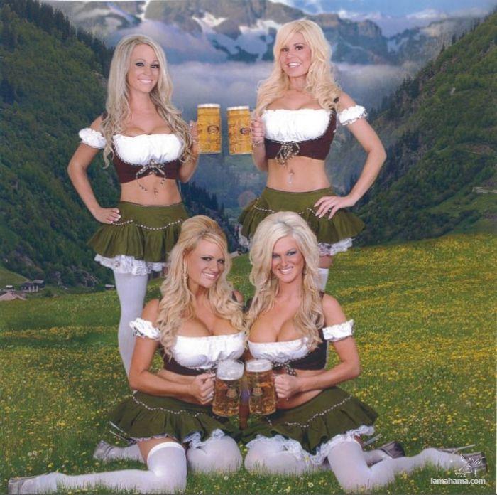 Женщины голые пиво моему