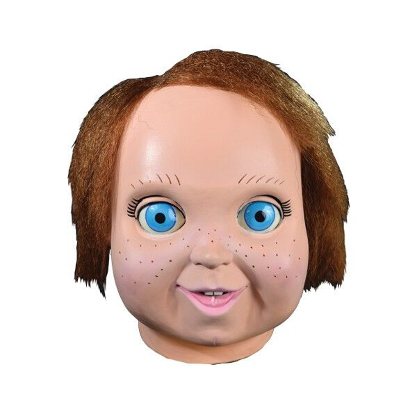 We are proud to present the Official Child's Play 2 - Good Guys Chucky Doll Mask This is the one that fans have been demanding for years, as no company has ever released a Good Guy Doll Mask, until no
