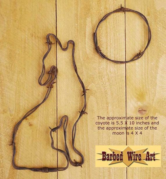 207 best Barb wire decor images on Pinterest   Barbed wire art ...