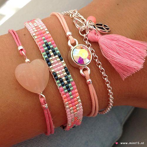 Mint15-bracelets www.mint15.nl