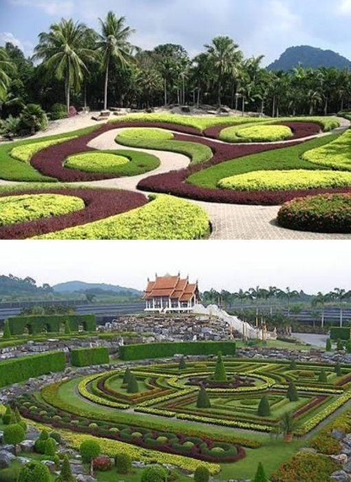 El Jardín Suan Nong Nooch – Tailandia