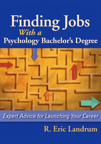In this book, 28 professionals describe the scope of their work, level of career satisfaction, and how their bachelor's degree in psychology helped get them there.