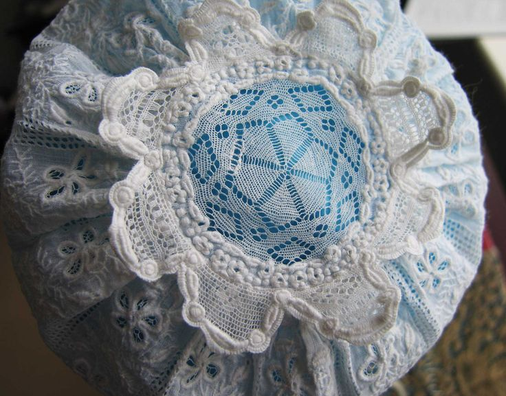 Antique Early 19thc Baby Cap Ayrshire Bonnet - Hand Stitched - Christening - Infant- Doll. by textilesgoneby on Etsy
