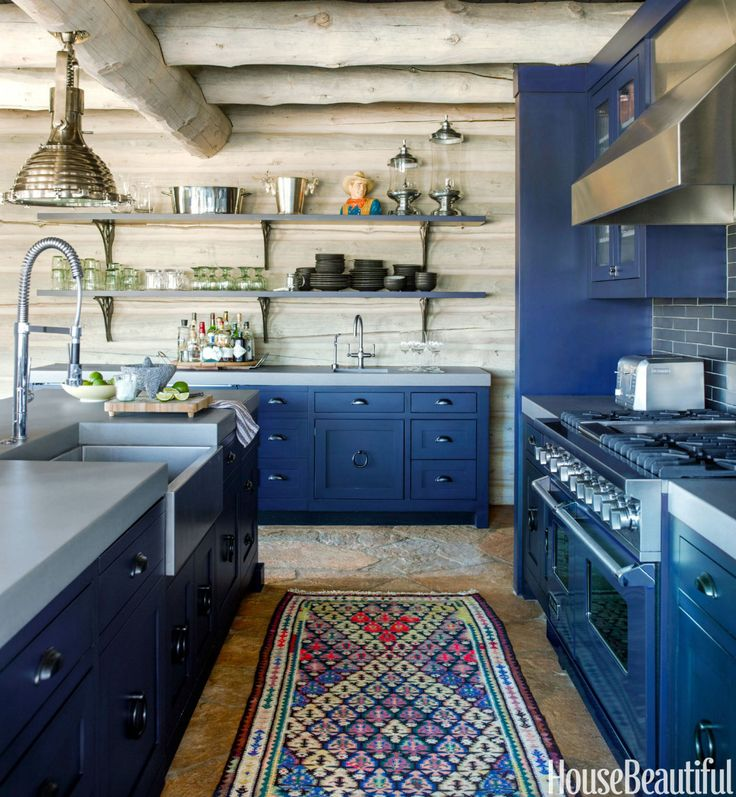 Exotic Meets Easygoing in This Colorado Cabin  - HouseBeautiful.com