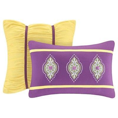 Maya 5 Piece Duvet Cover Set - Purple (Full/Queen), Variation Parent