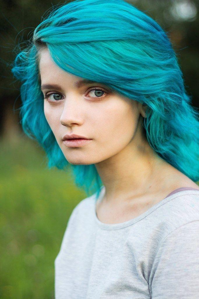Pretty Tumblr Girls With Green Hair | www.pixshark.com ...