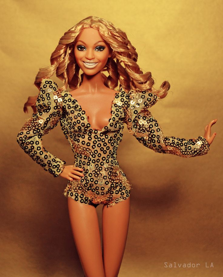 Where My Ring At? | Beyoncé Barbie doll in Integrity body. Full reroot, partial repaint and House of Arriaga