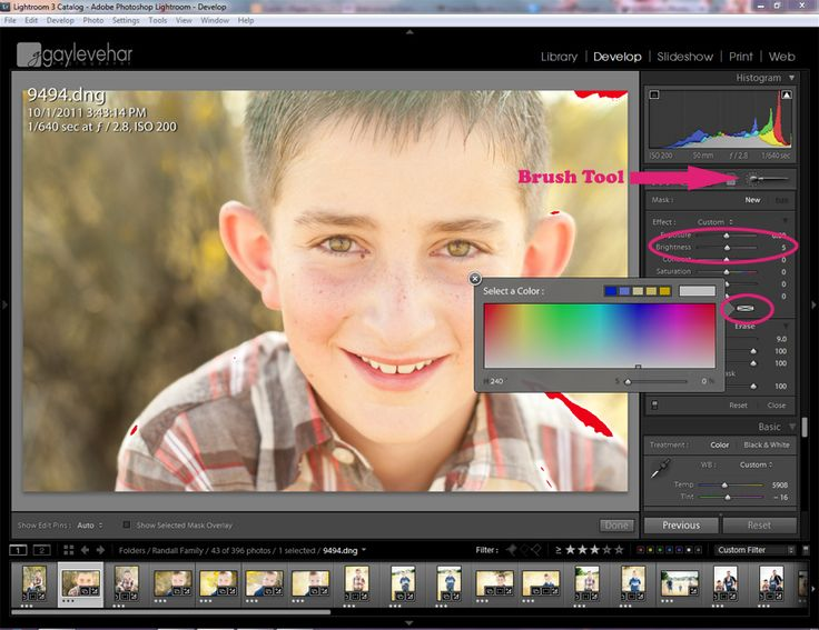 Correcting Color - Just Where You Want It in Lightroom