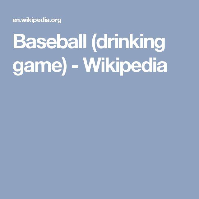 Baseball (drinking game) - Wikipedia
