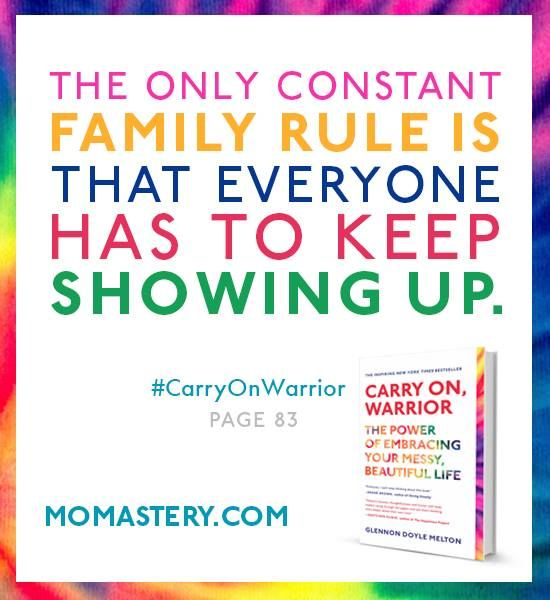 Thank you for showing up!! #carryonwarrior  http://www.amazon.com/gp/product/1451698224/ref=as_li_ss_tl?ie=UTF8&camp=1789&creative=390957&creativeASIN=1451698224&linkCode=as2&tag=momastery-20