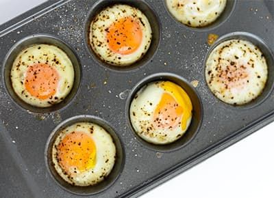 Poach Eggs in a Muffin Tin | Poached Eggs Recipe - PureWow